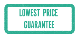 Lowest price guarantee stamp - Alensa
