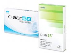 Clear 58 (6lenses)