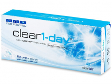 Clear 1-Day (30 lenses)
