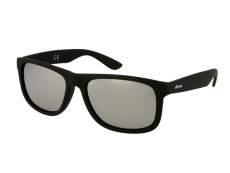 Sunglasses Alensa Sport Black Silver Mirror