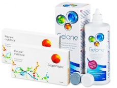 Proclear Multifocal (2x3 lenses) + Gelone Solution 360 ml