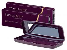 TopVue Elite+ (10 pairs) + Lenscase TopVue Elite
