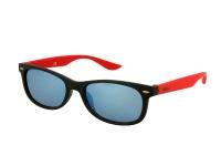 Alensa.com.mt - Contact lenses - Kids sunglasses Alensa Sport Black Red Mirror