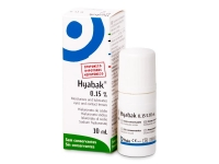 Alensa.com.mt - Contact lenses - Hyabak Eye Drops 10 ml