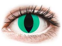 Alensa.com.mt - Contact lenses - Green Anaconda contact lenses - ColourVue Crazy