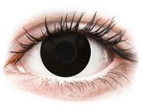 Alensa.com.mt - Contact lenses - Black BlackOut contact lenses - ColourVue Crazy