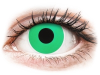 Alensa.com.mt - Contact lenses - Green Emerald contact lenses - ColourVue Crazy