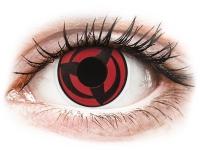 Alensa.com.mt - Contact lenses - Red Kakashi contact lenses - ColourVue Crazy