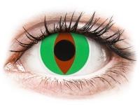 Alensa.com.mt - Contact lenses - Green Raptor contact lenses - ColourVue Crazy