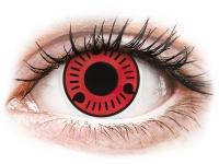 Alensa.com.mt - Contact lenses - Red Sasuke contact lenses - ColourVue Crazy