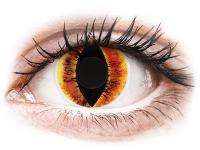 Alensa.com.mt - Contact lenses - Orange Saurons Eye contact lenses - ColourVue Crazy