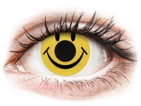 Alensa.com.mt - Contact lenses - Yellow Smiley contact lenses - ColourVue Crazy