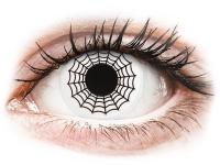 Alensa.com.mt - Contact lenses - Black and White Spider contact lenses - ColourVue Crazy