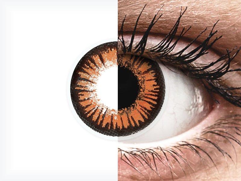 c7afa1815d ... Orange Twilight contact lenses - ColourVue Crazy (2 coloured lenses) ...