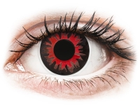 Alensa.com.mt - Contact lenses - Red Volturi contact lenses - ColourVue Crazy