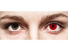 Red Devil contact lenses - power - ColourVue Crazy (2 coloured lenses)