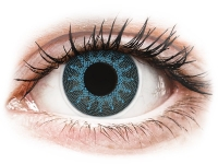 Alensa.com.mt - Contact lenses - Solar Blue contact lenses - power - ColourVue Crazy