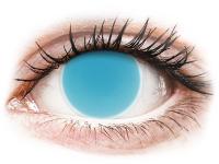 Alensa.com.mt - Contact lenses - Electric Blue Glow contact lenses - ColourVue Crazy