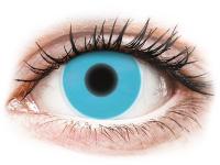 Alensa.com.mt - Contact lenses - Blue Glow contact lenses - ColourVue Crazy