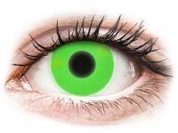 Alensa.com.mt - Contact lenses - Green Glow contact lenses - ColourVue Crazy