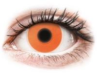 Alensa.com.mt - Contact lenses - Orange Glow contact lenses - ColourVue Crazy