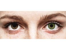 Green contact lenses - TopVue Color (10 daily coloured lenses)