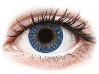Alensa.com.mt - Contact lenses - Blue True Sapphire contact lenses - TopVue Color