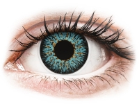 Alensa.com.mt - Contact lenses - Blue Aqua Glamour contact lenses - power - ColourVue