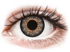 Grey Glamour contact lenses - power - ColourVue (2 coloured lenses)
