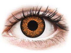 Honey Glamour contact lenses - ColourVue (2 coloured lenses)