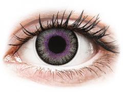 Violet Grey Fusion contact lenses - ColourVue (2 coloured lenses)