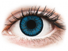 Blue Topaz contact lenses - SofLens Natural Colors (2 monthly coloured lenses)