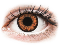 Alensa.com.mt - Contact lenses - Orange Twilight contact lenses - ColourVue Crazy