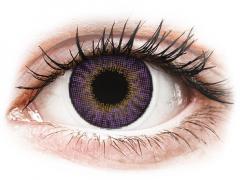 Air Optix Colors - Amethyst - plano (2 lenses)