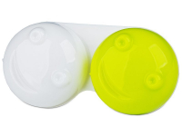 Alensa.com.mt - Contact lenses - Lens Case 3D - yellow