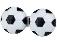 Alensa.com.mt - Contact lenses - Lens Case Football - black
