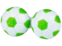 Alensa.com.mt - Contact lenses - Lens Case Football - green