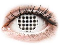 Alensa.com.mt - Contact lenses - ColourVUE Crazy Lens - White Screen - plano