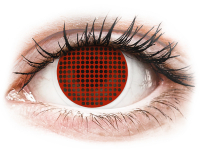 Alensa.com.mt - Contact lenses - ColourVUE Crazy Lens - Red Screen - plano