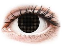 Alensa.com.mt - Contact lenses - ColourVUE Crazy Lens - Black Screen - plano