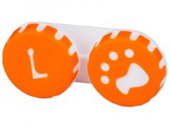 Lens Case Paw orange