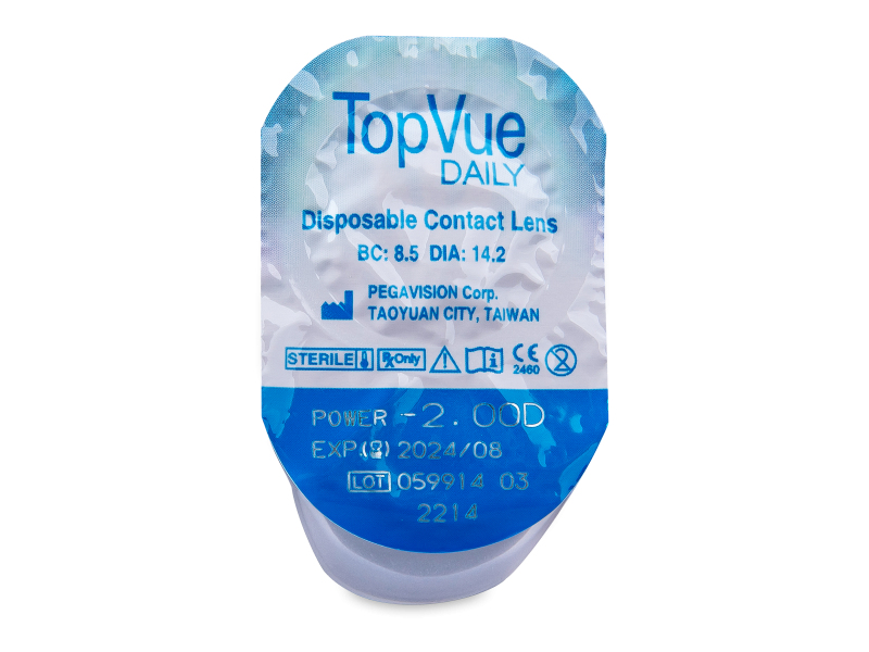 TopVue Daily (10 lenses)