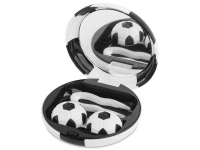 Alensa.com.mt - Contact lenses - Lens Case with mirror Football - black