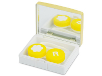 Alensa.com.mt - Contact lenses - Lens Case with mirror Elegant  - gold