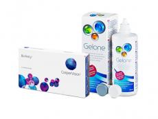 Biofinity (3 lenses) + Gelone Solution 360 ml