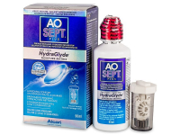 Alensa.com.mt - Contact lenses - AO SEPT PLUS HydraGlyde Solution 90 ml