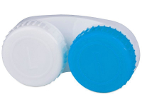 Alensa.com.mt - Contact lenses - Lens Case blue & white L+R