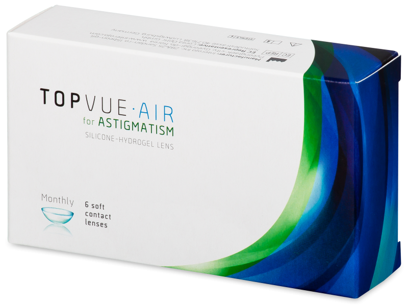 TopVue Air for Astigmatism (6 lenses)