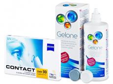 Carl Zeiss Contact Day 30 Spheric (6lenses) +GeloneSolution 360ml