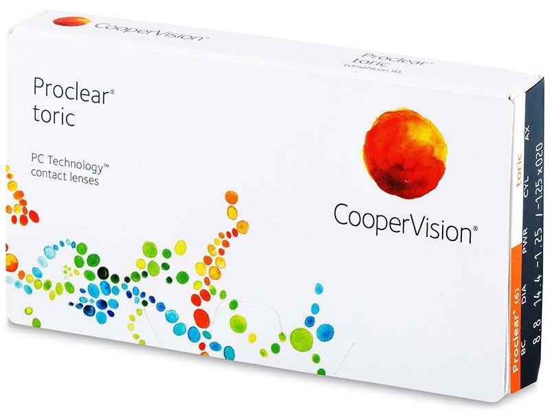 Proclear Toric (3 lenses)
